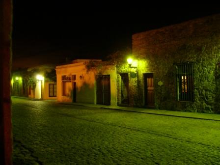 Rue de Colonia de nuit