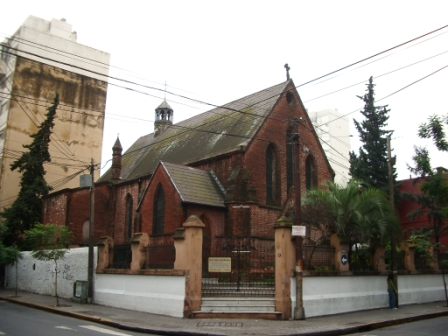 L\'église anglicanne de Rosario