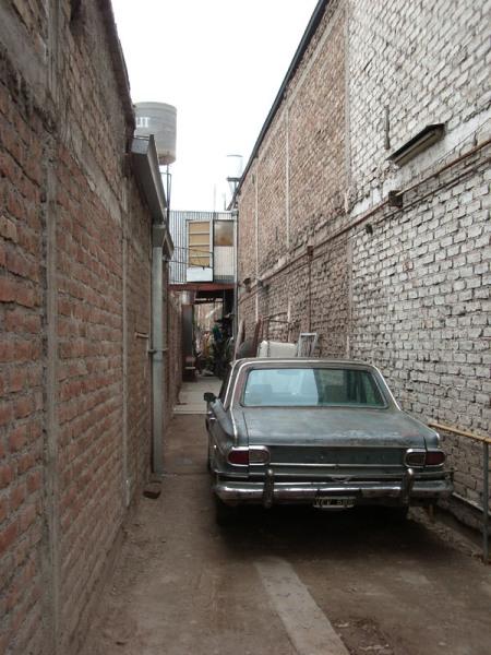 Une ruelle de Mendoza