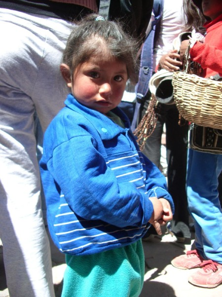 Petite fille (Bolivienne?)