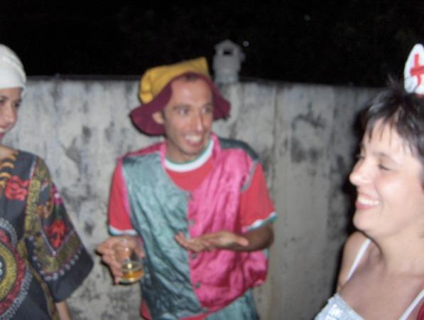 Mario en Clown
