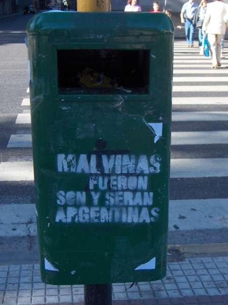 Les malouinnes étaient, sont et seront argentine!!!