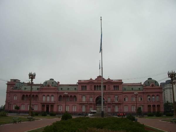 La casa rosada, palais presidentiel argentin