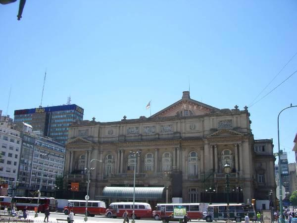 Le théatre Colon de Buenos Aires