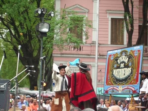 Danseurs traditionnels du nord argentin