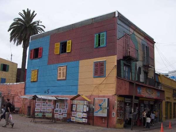 Maison colorée de la boca - Buenos Aires