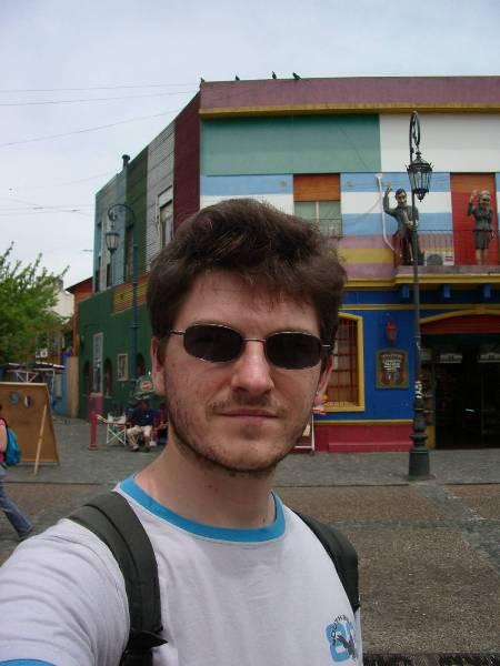 Moi à la Boca - Buenos Aires