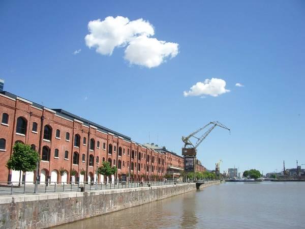 Ancien dock de Buenos Aires, Puerto Madero