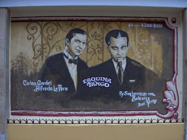 Carlos Gardel, la légende morte du tango argentin - San Telmo - Buenos Aires