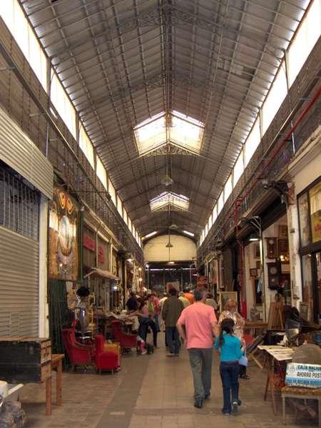 Galerie commerçante dans le quartier de San Telmo - Buenos Aires