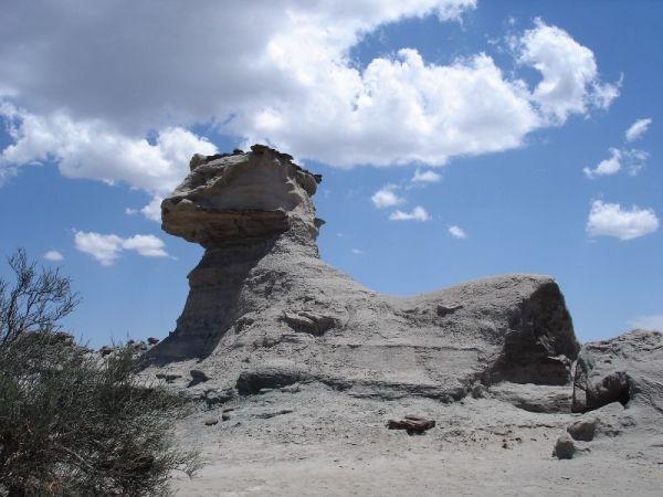 Le sphinx - Parc d\'Ischigualasto
