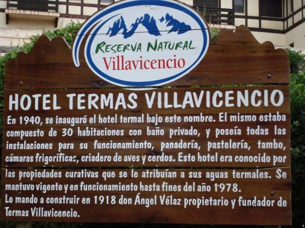 Histoire des termes de Villavicencio (oui ça n\'interesse que moi!!)