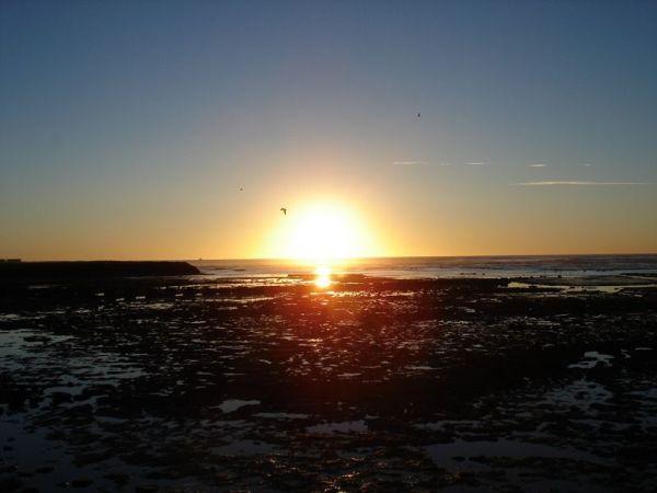Levé de soleil à Comodoro Rivadavia