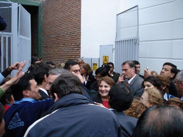 Ma première rencontre avec le president Kirchner (caché)