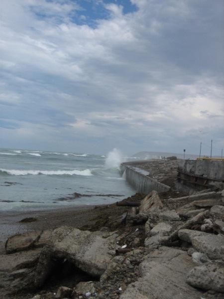 La mer à Comodoro Rivadavia