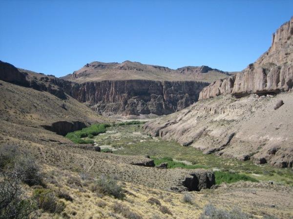 Vallée de Cueva de las manos
